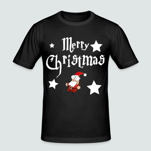 Merry Christmas - Ugly Christmas Sweater - Männer Slim Fit T-Shirt