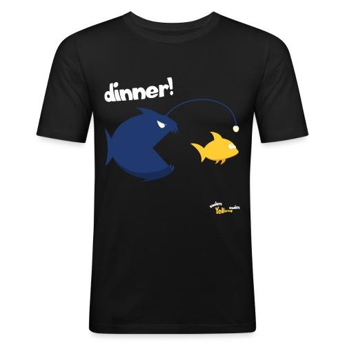 Dinner - Mannen slim fit T-shirt