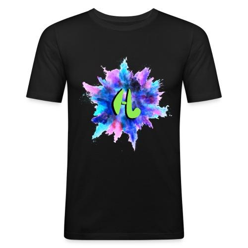 Hockeyvidshd nieuwe collectie - Mannen slim fit T-shirt