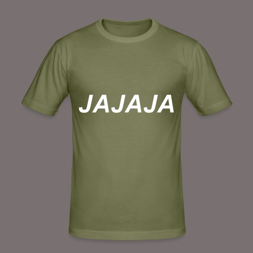 Ja - Männer Slim Fit T-Shirt