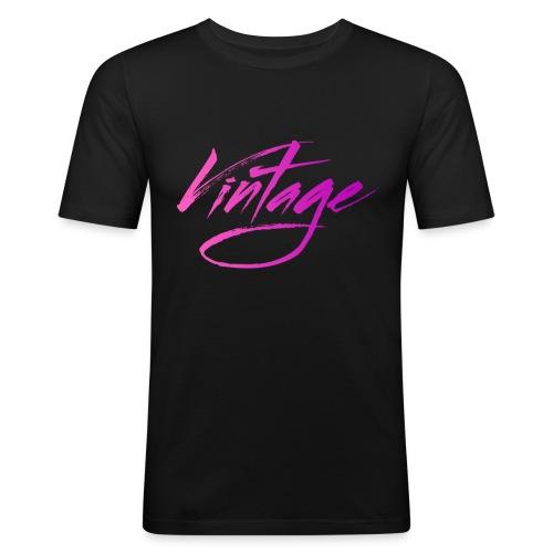 Vintageness 05 - Men's Slim Fit T-Shirt