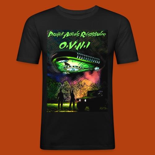 T Shirt ovni green 01 - T-shirt près du corps Homme