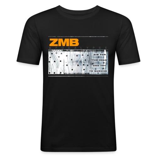 ZMB APOCALYPSE - Männer Slim Fit T-Shirt
