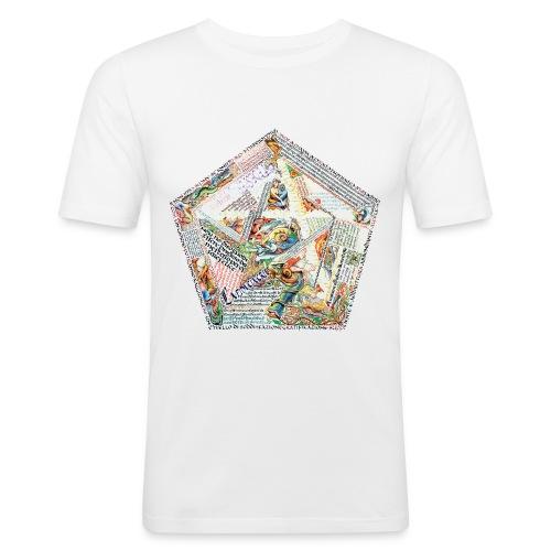 Pentagranuncolo - Maglietta aderente da uomo
