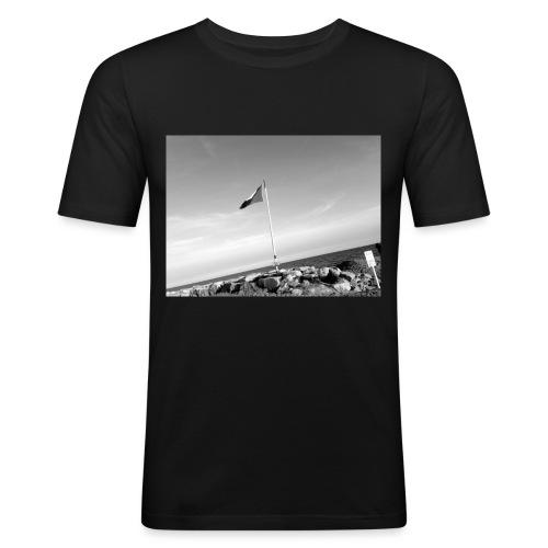 Beach feeling - Männer Slim Fit T-Shirt