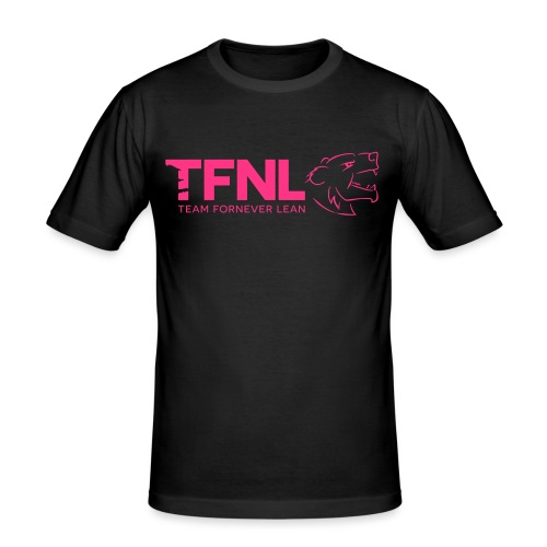 TFNL Pink Logo Tee - Men's Slim Fit T-Shirt