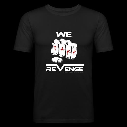 Darkness on Demand - We Take Revenge - Männer Slim Fit T-Shirt
