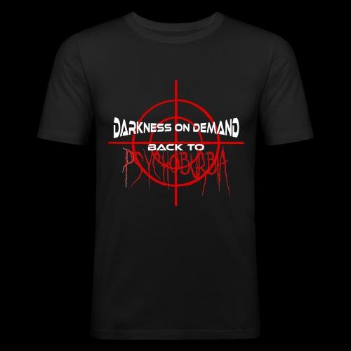 DoD Back to Psychoburbia - Männer Slim Fit T-Shirt