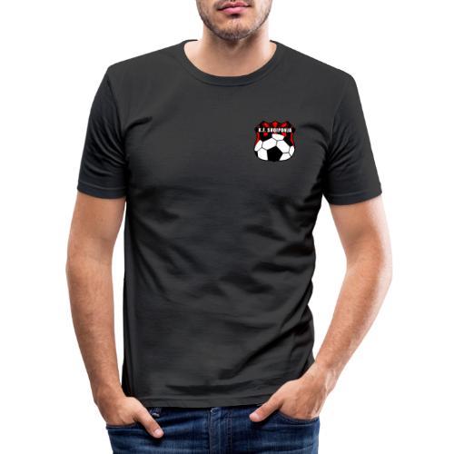 KF Shqiponja Store - Männer Slim Fit T-Shirt