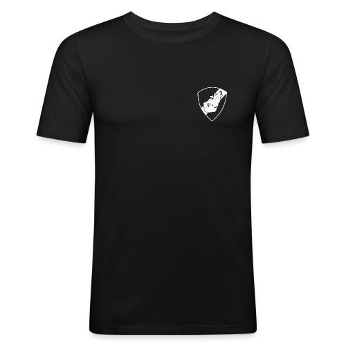 Spaningspluton sköld - Slim Fit T-shirt herr
