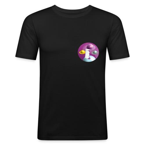 Lean Codein Design Print, Hip-Hop/Street - Männer Slim Fit T-Shirt