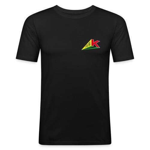 TusK_Logo - Männer Slim Fit T-Shirt