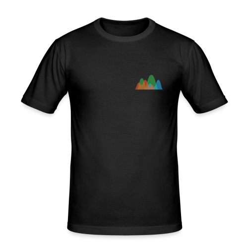 Istogramma Digital Colorist - Maglietta aderente da uomo