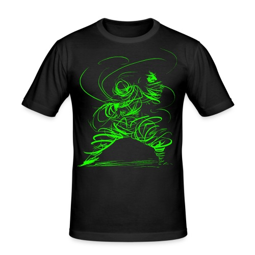 Kung Fu Sorcerer / Kung Fu Wizard - Men's Slim Fit T-Shirt
