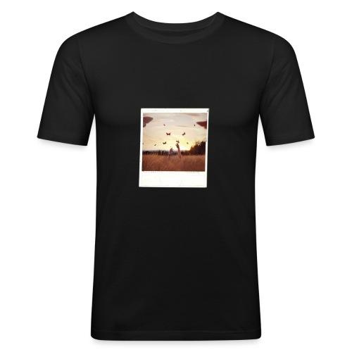 POLAROID 3 - Men's Slim Fit T-Shirt
