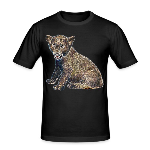 Lil Lion - Men's Slim Fit T-Shirt