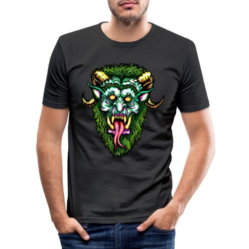 Krampus Design online - Männer Slim Fit T-Shirt