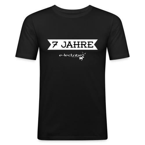 7jahre_2_white-01-01 - Männer Slim Fit T-Shirt