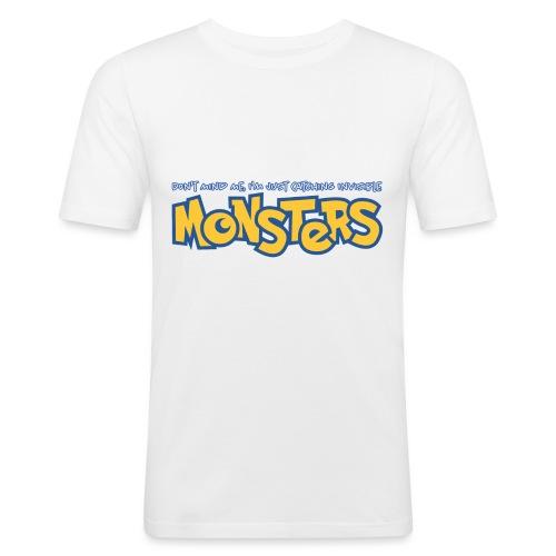 Monsters - Men's Slim Fit T-Shirt
