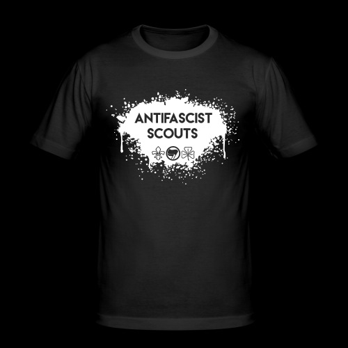 Antifascist Scouts - Men's Slim Fit T-Shirt