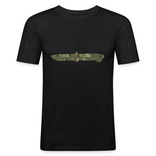 Knife - Männer Slim Fit T-Shirt