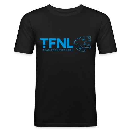 TFNL Blue Logo Tee - Men's Slim Fit T-Shirt