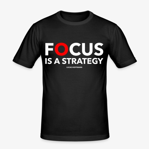 FOCUS - Männer Slim Fit T-Shirt