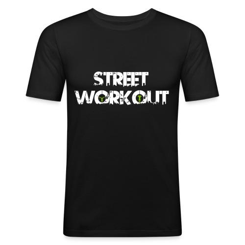Street Workout - Männer Slim Fit T-Shirt