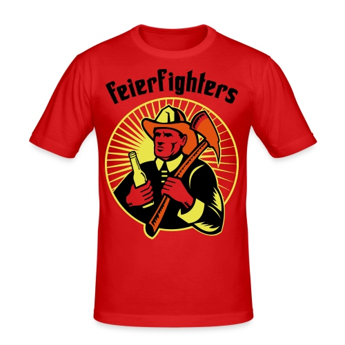 feierfighters - Männer Slim Fit T-Shirt