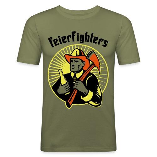 feierfighters - Männer Slim Fit T-Shirt