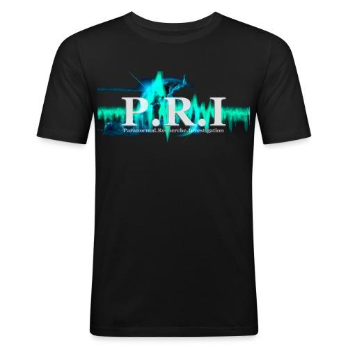logofpripng1planete4 - T-shirt près du corps Homme