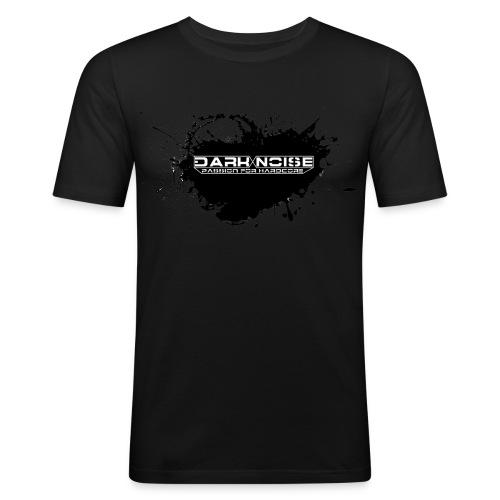 Dark Noise splash - Mannen slim fit T-shirt