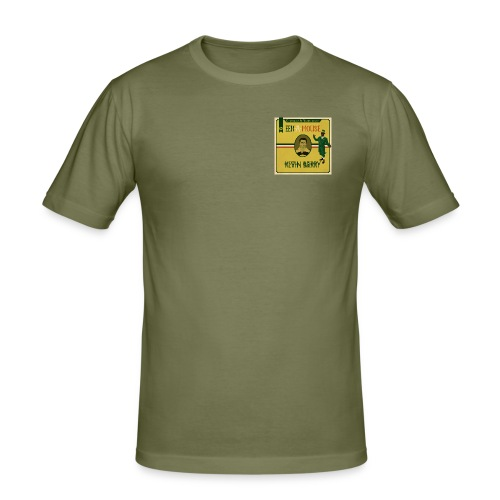 Eek a Mouse Kevin Barry - Men's Slim Fit T-Shirt