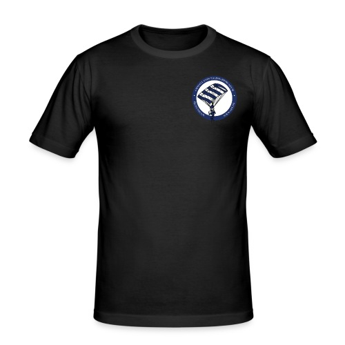 ØFK logo png - Herre Slim Fit T-Shirt