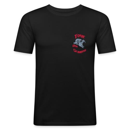 tdg8cm - Männer Slim Fit T-Shirt
