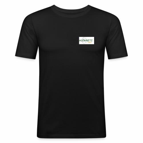 Alpanetz Logo Sport - Männer Slim Fit T-Shirt