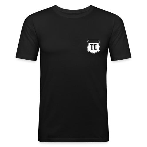 Black LOGO - Men's Slim Fit T-Shirt