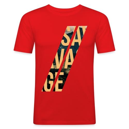 //Savage - Maglietta aderente da uomo