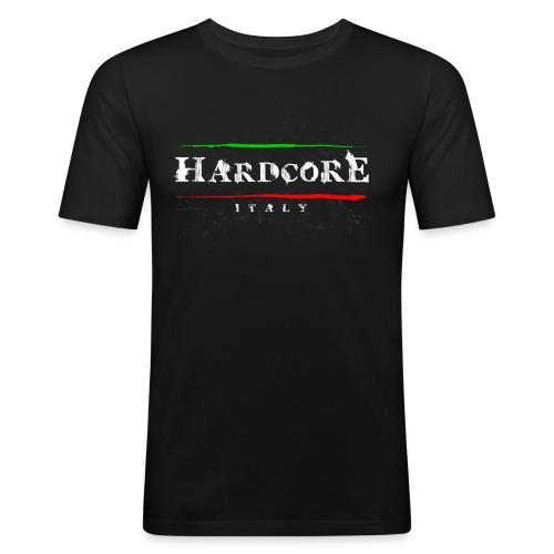Hard Core Italy - Men's Slim Fit T-Shirt