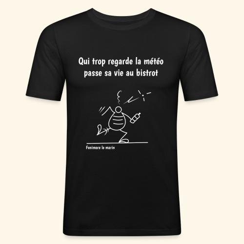 Fenimore Meteo négatif - T-shirt près du corps Homme