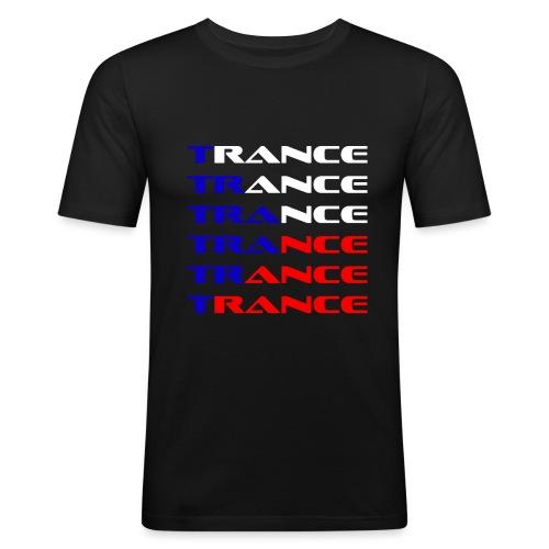 Trance Tjeckien - Slim Fit T-shirt herr