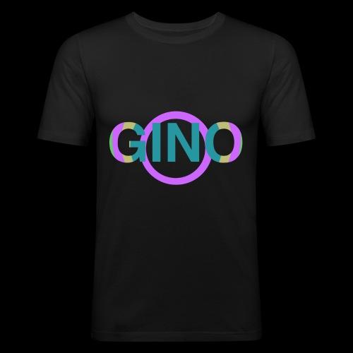 Gino - Mannen slim fit T-shirt