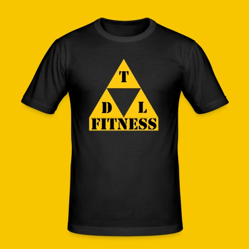 Bigger x2 Transparent - Men's Slim Fit T-Shirt