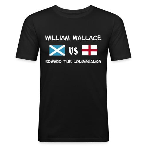 William vs Edward W - Männer Slim Fit T-Shirt