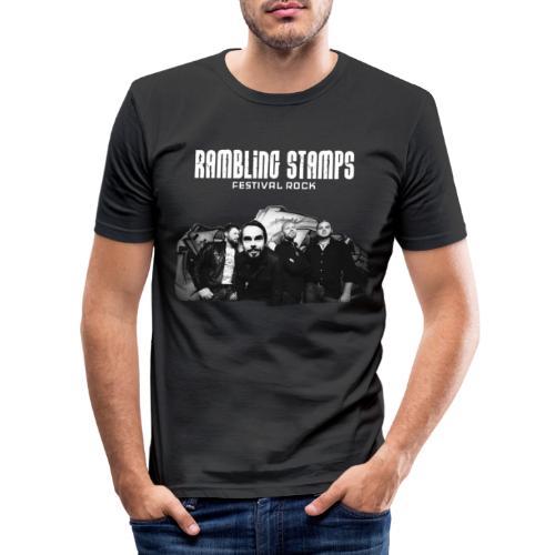 Stampsstuff - Shirt - black - Männer Slim Fit T-Shirt