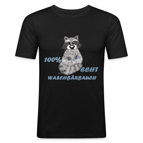 Echt Waschbärbauch - Männer Slim Fit T-Shirt