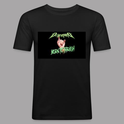 Born to Thrash! - Slim Fit T-shirt herr