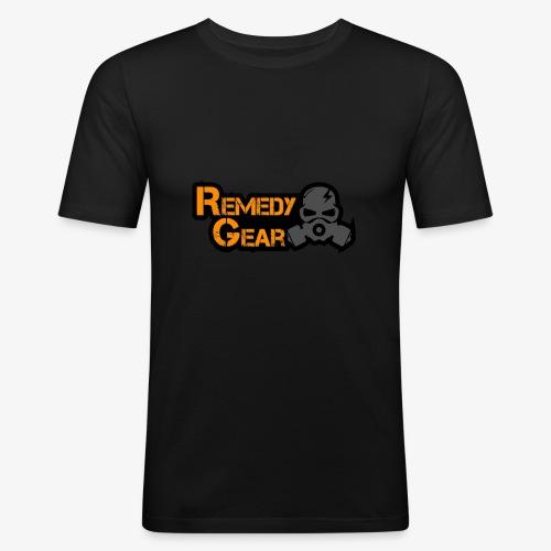 Remedy Gear Logo Wear - Men's Slim Fit T-Shirt