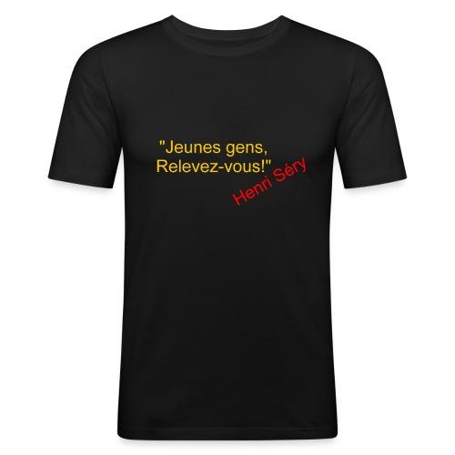 Pistols Clairon recto - T-shirt près du corps Homme
