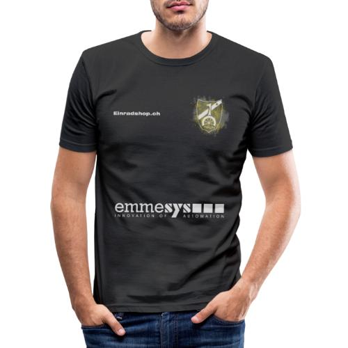 Offizielles Shirt des Einradverein Thun - Männer Slim Fit T-Shirt